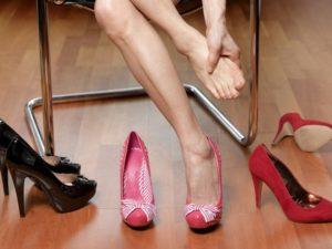 corporate apparel, high heels
